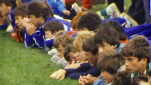 Supporters at the GAA Summer Camp (1982)