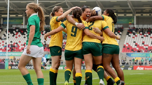 Australia dominated much of the game at Ravenhill