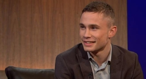 Carl Frampton appearing alongside the McGuigans