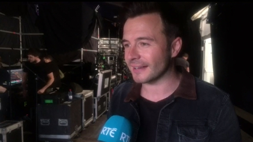 """Shane Filan - """"It only happens once for you so just go out there and give it your best"""""""