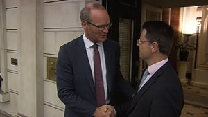 James Brokenshire and Simon Coveney held talks today