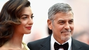 George and Amal Clooney donate $1 or €850,000 to an anti-hate group after the violent protests in Charlottesville which saw one woman killed