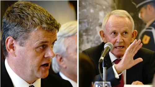 INM CEO Robert Pitt (left) abstained from the vote to re-appoint Leslie Buckley (right) to the company's board