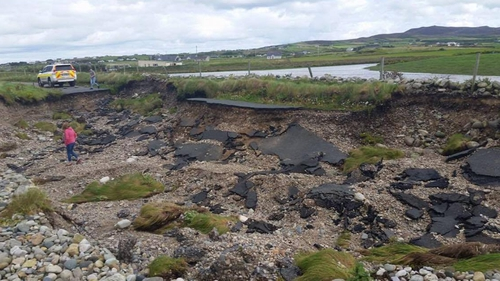 Flooding in Donegal caused widespread damage (Pic: Daniel Hutson)