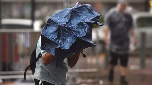 The storm has been named Storm Caroline by the UK Met Office