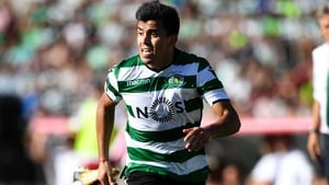 Marcos Acuna was on target for Sporting Lisbon
