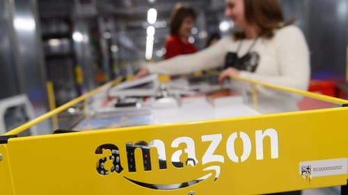 Amazon rose by 4.7% at one point in yesterday's trade, putting its market capitalisation at $865 billion