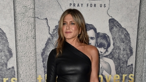 "Jennifer Aniston - ""If your body is in a normal moment of having had a bite or two, or you're having a moment of bloat, then there's arrows circled around your stomach, telling you that you're pregnant."""