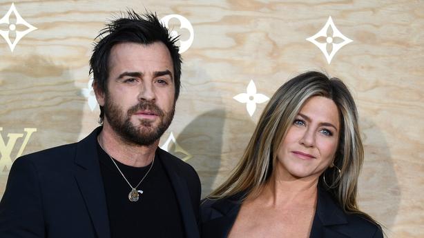 Jennifer Aniston andJustin Theroux wed in 2015