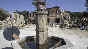 The quake devastated a huge area, causing damage to homes, schools, hospitals and churches
