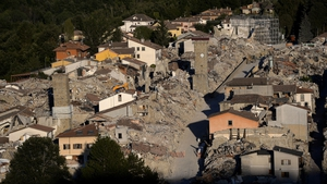 The disaster razed much of Amatrice