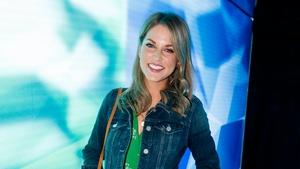 Amy Huberman at RTÉ's new season launch 2017