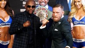 Floyd Mayweather Jr. and Conor McGregor clash in Las Vegas tomorrow night