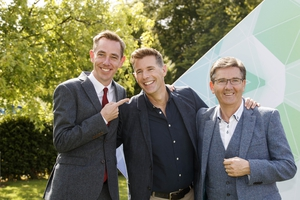 Ryan Tubridy, Dermot Bannon and Daniel O' Donnell all looked smart on the day. We particularly love Daniel's waistcoat.