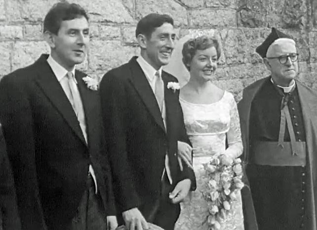 Ronnie Delaney Marriage to Joan Riordan (1962)