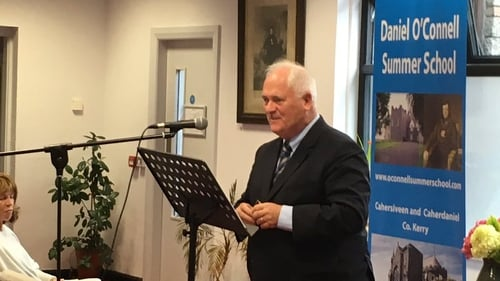 John Bruton was speaking at the Daniel O'Connell Summer School in Cahersiveen, Co Kerry