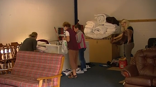 Buncrana volunteers are collecting household items to give to people affected by the floods