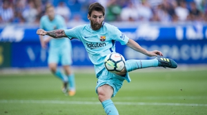 Lionel Messi scored another brace for Barca