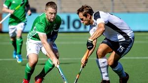 Alan Sothern scored Ireland's opening goal against Austria on Sunday