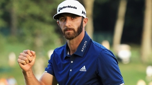 Dustin Johnson is heading for Adare Manor