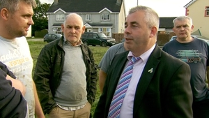 Kevin 'Boxer' Moran visited people hit by flooding in Donegal last week
