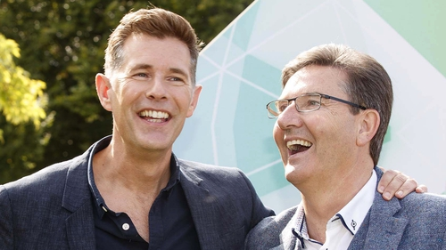 """""""Majella and I, we have a lovely house in Donegal, although Dermot thinks it's very ordinary!"""""""