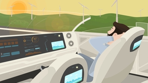 Going driverless in the country. Illustration: BreezyInt/Shutterstock