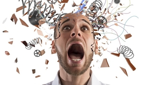Body's in trouble: stress causes more than just mental pressure. Photo: Shutterstock