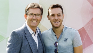 Nathan Carter is joining Daniel O'Donnell on the bill
