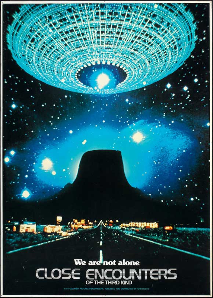 """40th anniversary of """"Close Encounters of the Third Kind"""""""