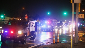 Armoured police vehicles in Ferguson drew criticism from civil rights advocates