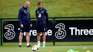 Jonathan Walters missed training again for Ireland