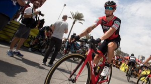 Nicolas Roche is now joint second
