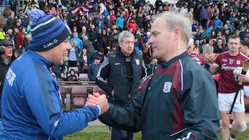 Derek McGrath and Micheál Donoghue go back a long way
