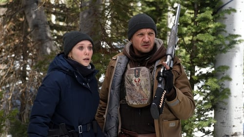 A great team - Elizabeth Olsen and Jeremy Renner in Wind River