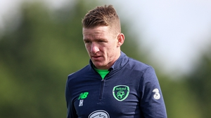 Jonny Hayes is dismissing talk that he will be heading to the Championship