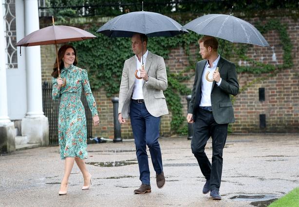 Kate, William, Harry