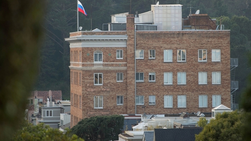 The Russian consulate building in San Francisco