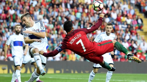 Could Ronaldo's Portugal be Ireland's next opponents?