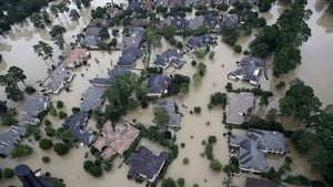 Houston was left underwater after Hurricane Harvey hit