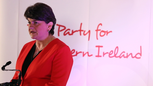 Arlene Foster was quoted objecting to the release of legacy funding due to concerns that they would cause an unfair focus on deaths connected with security personnel