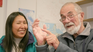 Belfast man and Inuit scholar Mick Mallon, and his wife Alexina - the subject of this weekend's Documentary On One.
