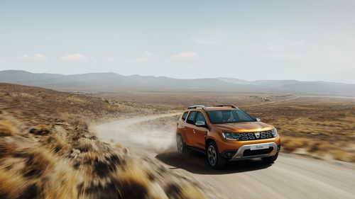 The new Dacia Duster budget sports utility vehicle will make its debut at Frankfurt.