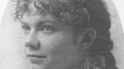 Composer Amy Marcy Cheney (later Amy Beach), aged 16 - this week's Lyric Feature tells her story.