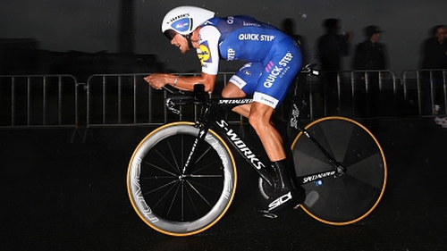 Matteo Trentin claimed his third Vuelta stage win