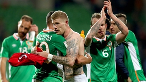 The Republic of Ireland are in Georgia for tonight's crucial World Cup qualifier