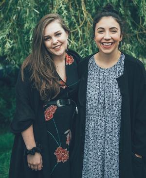 Saint Sister -  Morgan MacIntyre and Gemma Doherty ©Ruth Medjber