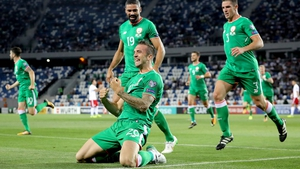 Shane Duffy scored Ireland's goal the last time they played in Georgia