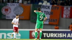 A dejected Shane Long