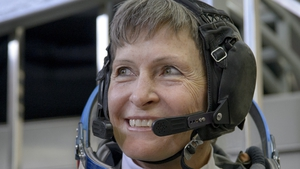 Peggy Whitson, 57, completed a mission to the International Space Station that began in November 2016